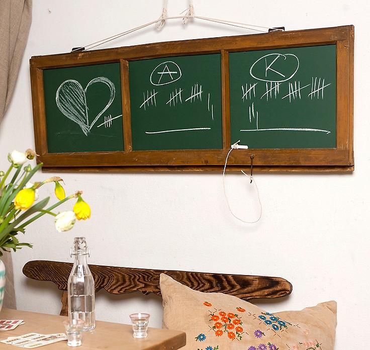 video anleitung 3 dekoideen f r alte fenster. Black Bedroom Furniture Sets. Home Design Ideas