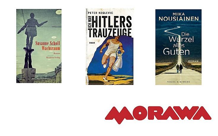 Scholl, Keglevic und Co.: Die neuen literaTOUR-Buchtipps
