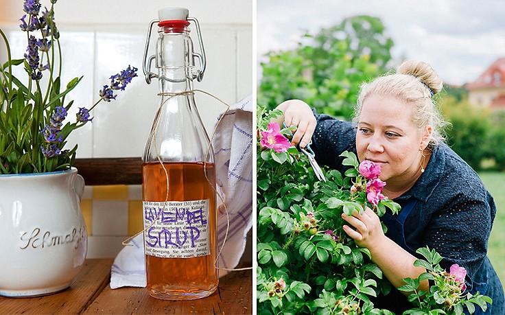 Sirup aus dem Garten: Wenn's riecht, dann schmeckt's.