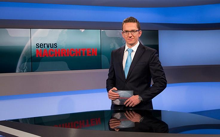 Unsere ServusTV-Moderatoren: Julian Kumpusch