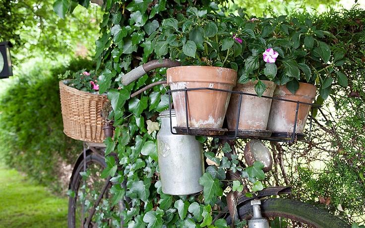 Inspiration für den Garten: Deko-Objekte mit Charakter