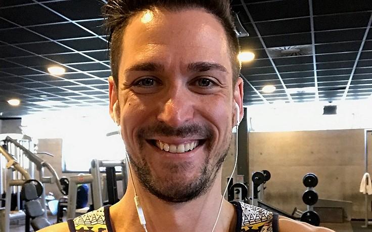 Andreas Moravec und sein Fitness-Plan