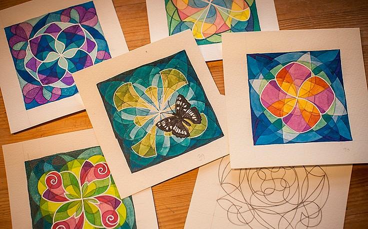 So Zeichnen Sie Ihre Eigenen Mandalas