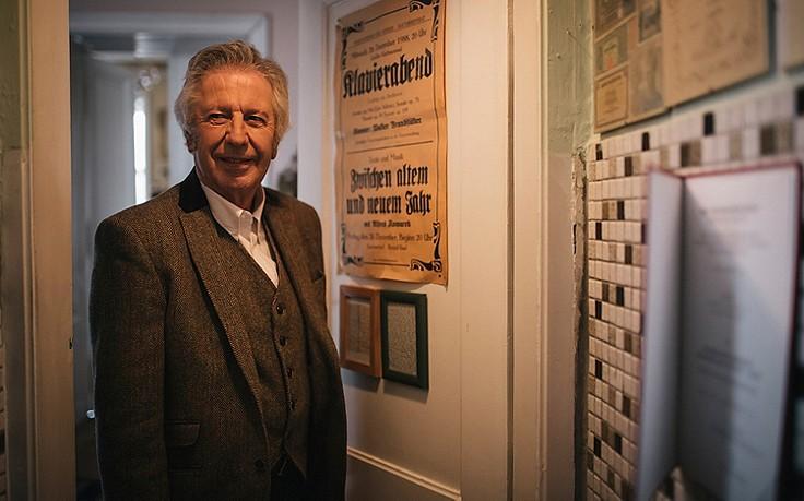 Der ServusTV-Moderator ganz privat: Wohnungsführung bei Alfred Komarek