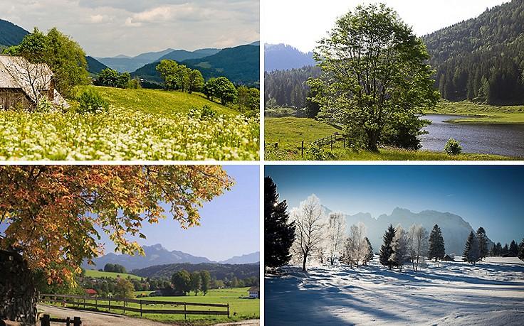 Das Gartenjahr und seine zehn natürlichen Jahreszeiten