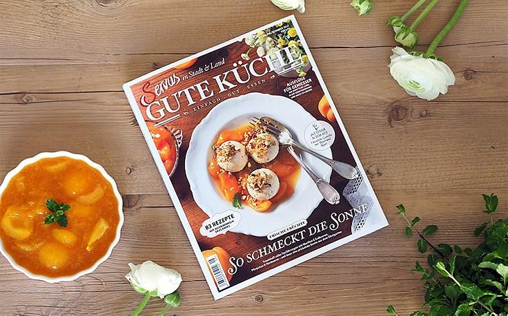 """Einfach gut essen mit der """"Servus Gute Küche"""" Frühling/Sommer 2017"""