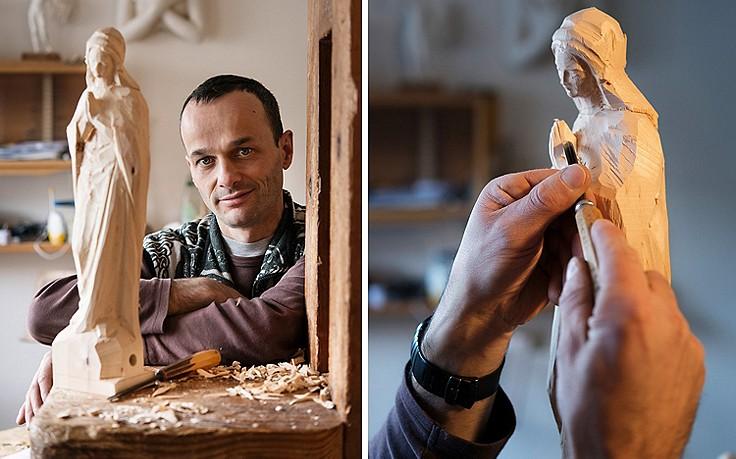 Himmlische Holzschnitzkunst aus dem Grödnertal