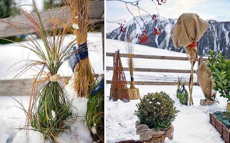 So schützt man empfindliche Pflanzen vor der Kälte.