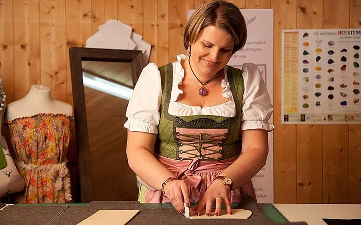 Klein, bunt und praktisch – die Dirndltäschchen von Bettina Heinrich