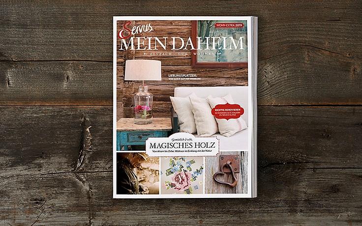 Servus Mein Daheim – die erste Ausgabe ist da!