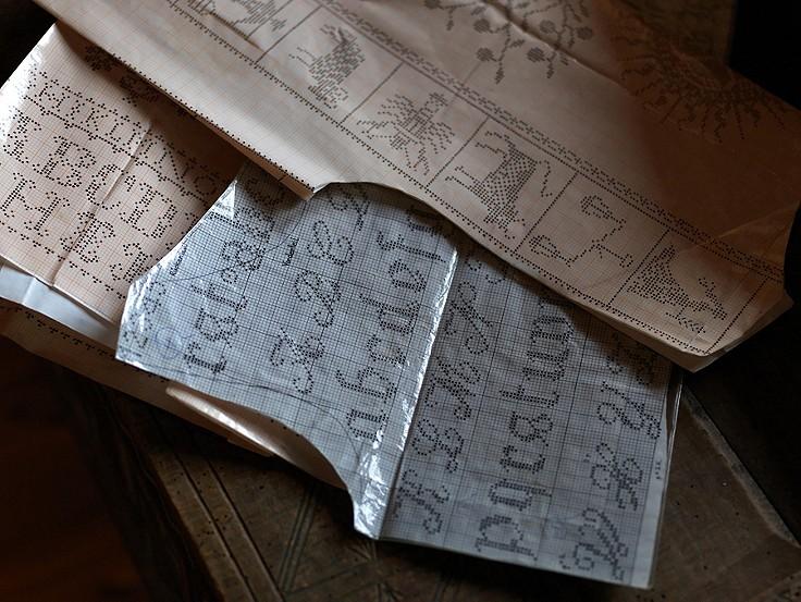 Muster mit Symbolwert – die Welt der Kreuzstich-Stickerei