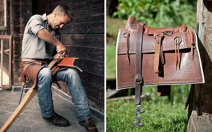 Ledermeisterwerke eines Kärntner Cowboys
