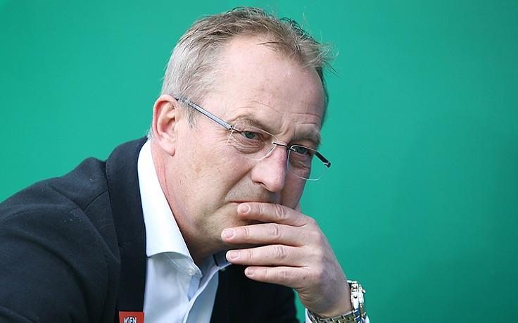 """Rapid-Sportdirektor Fredy Bickel: """"In zwei Jahren haben wir eine Akademie"""""""