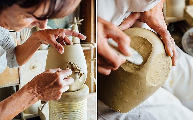 Zerbrechliche Kunst: Becher, Teller und Krüge aus Ton