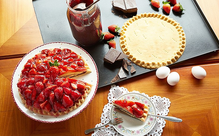 Erdbeer-Kuppeltorte aus Meisterhand