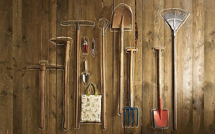 Gartenwerkzeug richtig einwintern