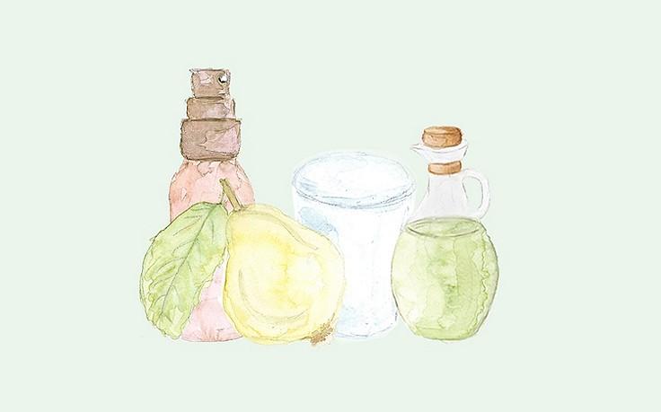 Grüne Kosmetik zum Selbermachen: Quitten-Hautspray