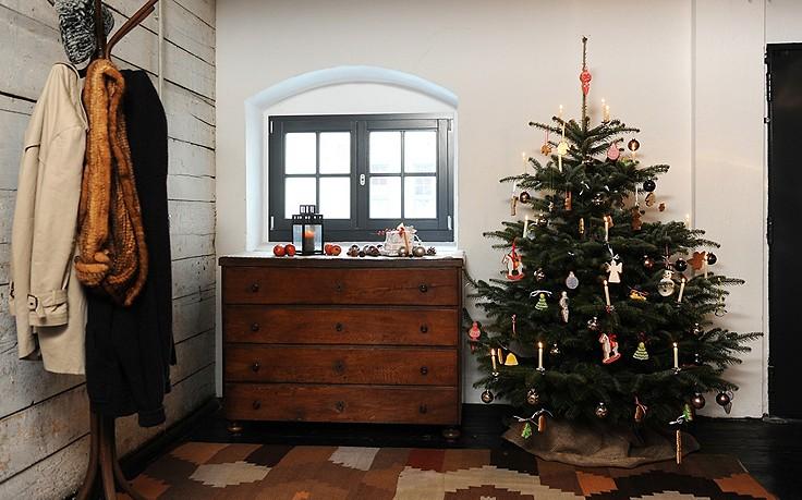Woher kommt der Christbaum?
