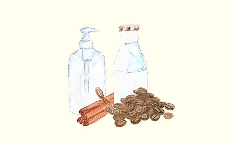Grüne Kosmetik zum Selbermachen: Milchkaffee-Shampoo
