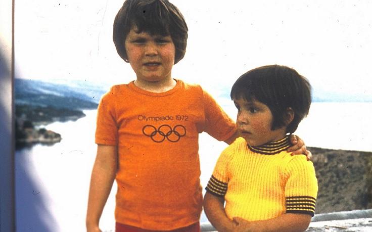 Schon als Buben nahm der Vater Thomas (links) und Alexander mit in die Berge – der Beginn einer einzigartigen Karriere.