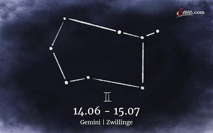 Servus-Jahreshoroskop 2018: Gemini (14.06.–15.07)
