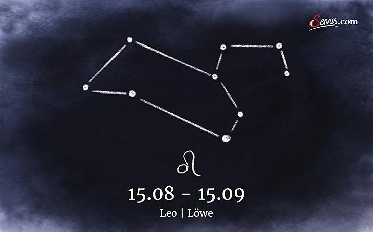 Servus-Jahreshoroskop 2018: Leo (15.08-15.09)