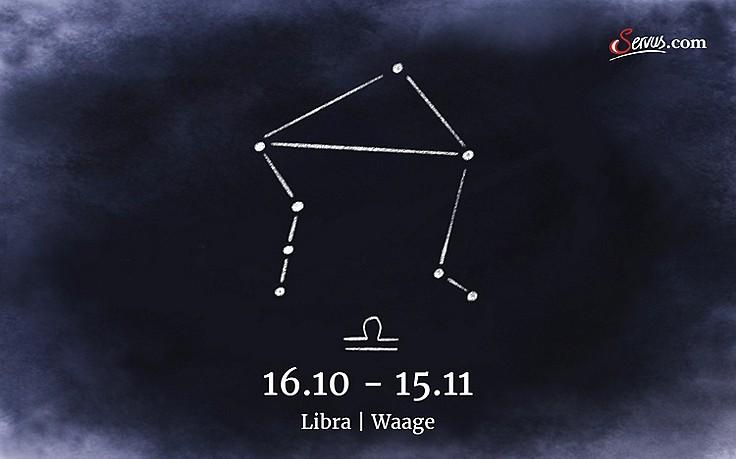 Servus-Jahreshoroskop 2018: Libra (16.10-15.11)