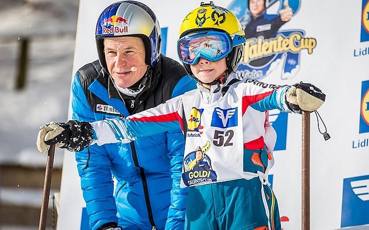 Andi Goldberger sucht laufend nach neuen Skisprung-Talenten.
