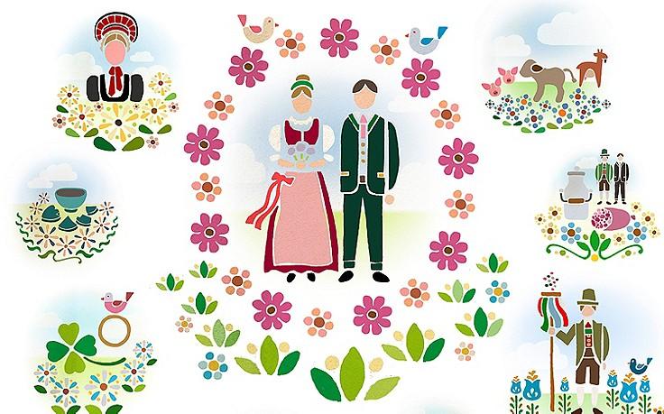 Traditionelle Hochzeitsbräuche aus Österreich