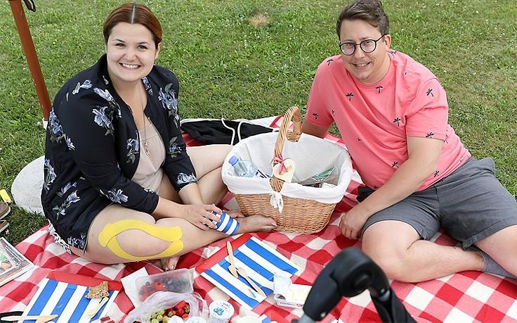 Das Servus Heumilch-Picknick im Wiener Augarten