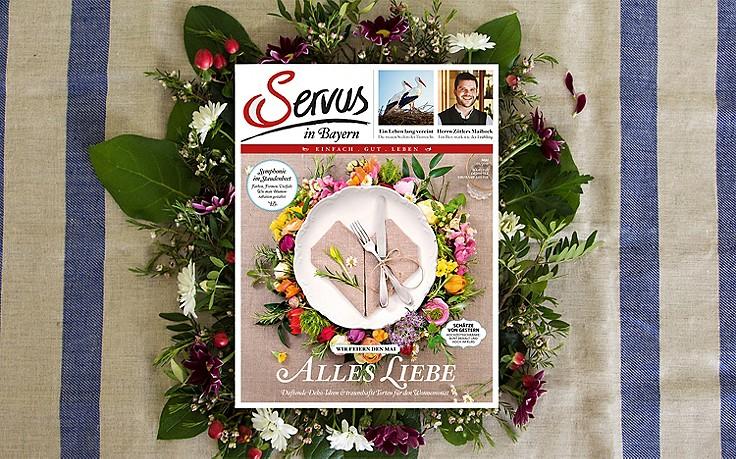 Die Mai-Ausgabe von Servus – jetzt erhältlich!