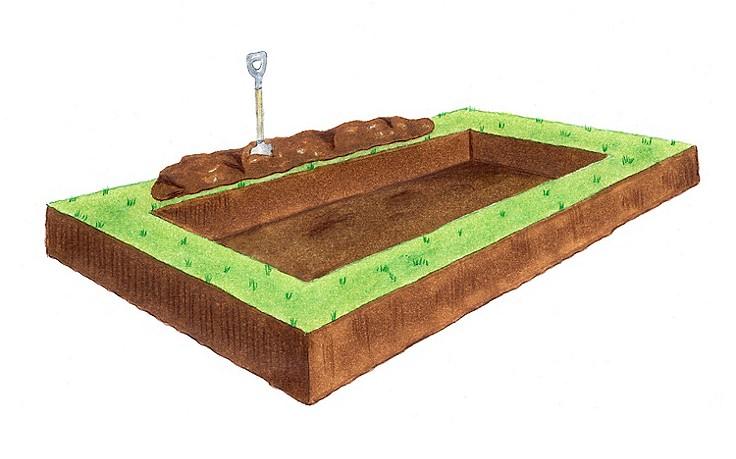 Das ideale Hochbeet ist von allen Seiten zugänglich und maximal 120 cm breit.