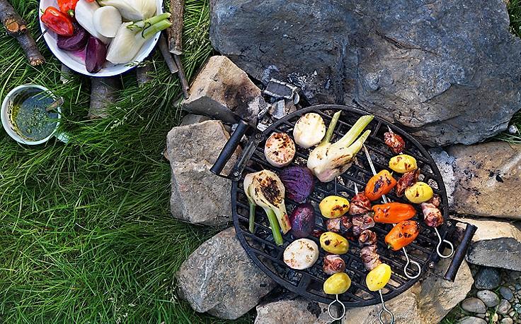 So grillt man Gemüse