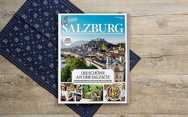 Jetzt im Handel: Servus Salzburg