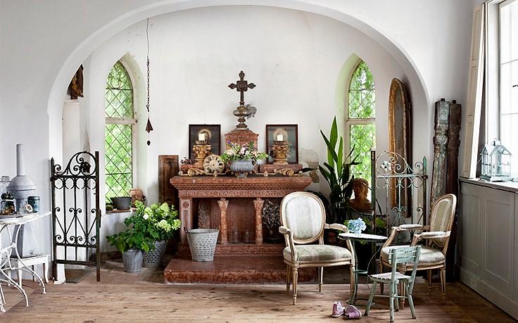 Hausbesuch Kloster