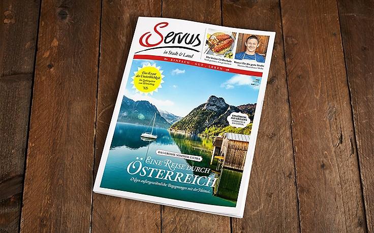 Die Juli-Ausgabe des Servus-Magazins ist jetzt erhältlich!