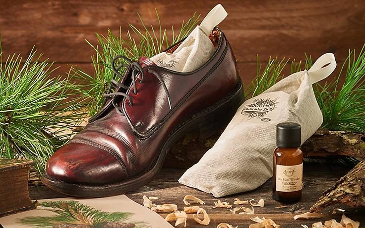 Schuhpolster mit Zirbe