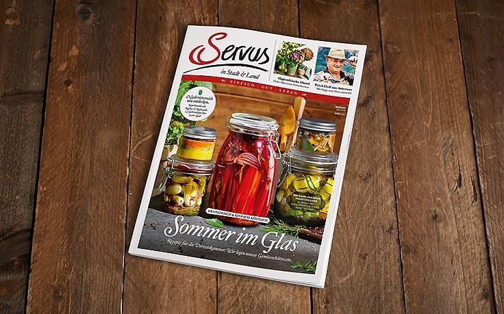 Die August-Ausgabe des Servus-Magazins ist jetzt erhältlich!