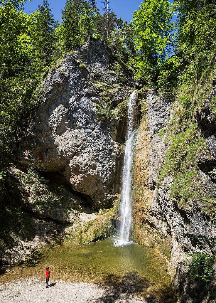 Wasserfall Pötz