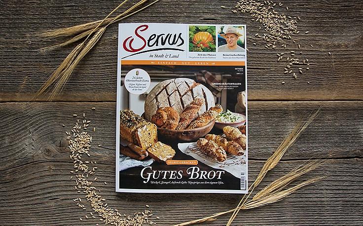 Die Oktober-Ausgabe des Servus-Magazins ist jetzt erhältlich!