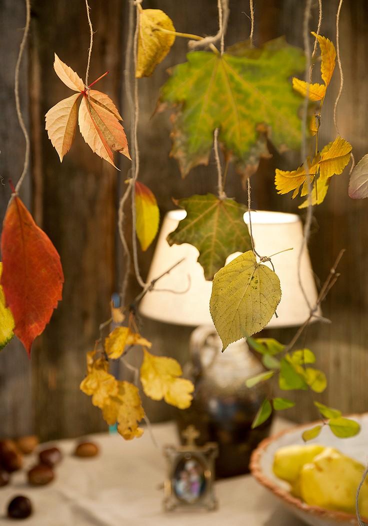 Blätter-Girlande
