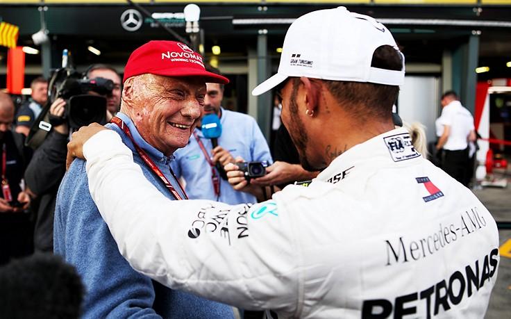 Fast-Weltmeister Hamilton erhielt Anruf von Lauda