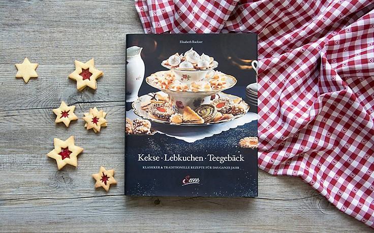 Backbuch für Kekse, Lebkuchen und Teegebäck