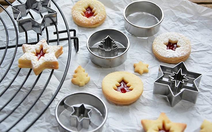 Ausstecher für Linzer Kekse