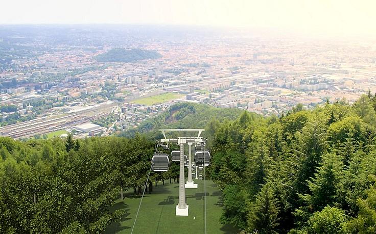 Graz baut neue Seilbahn über den Plabutsch