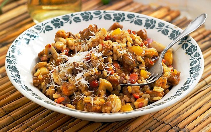 Pannonisches Reisfleisch