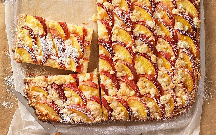 Pfirsich marzipan kuchen for Kuchen zusammenstellen programm