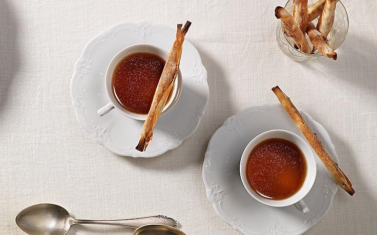 Wildessenz mit Maroni-Stangerln