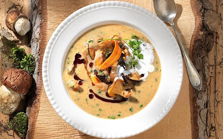 Steirische Schwammerl-Suppe