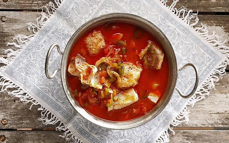 Pannonische Fischsuppe